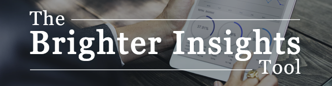 Banner | Brighter Insights SEO Tool | Brighter Vision Web Solutions | Marketing Blog for Therapists