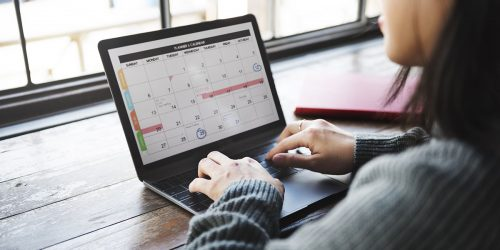 Step 3: Stay organized with a social media content calendar | Create A Social Media Strategy for Your Private Practice in 4 Easy Steps (+ Free Content Calendar Download) | Brighter Vision | Therapist Websites & Online Marketing Solutions