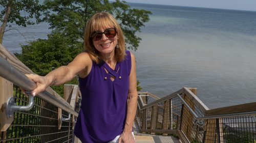 Tracy at the beach | Brighter Spotlight with Tracy Baranauskas | Brighter Vision | Marketing Blog for Therapists