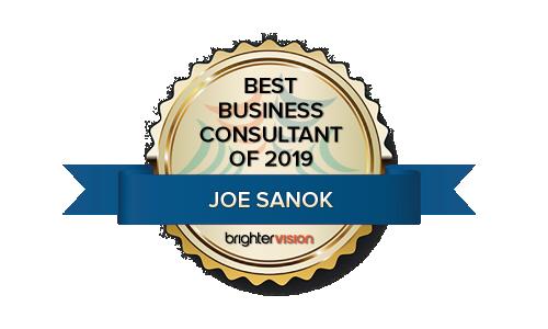 Winner Badge | Joe Sanok | Practice of the Practice | Best Business Consultant of 2019