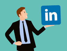 Featured image | How to Set up a LinkedIn Company Page for Your Private Practice | Brighter Vision | Marketing Blog for Therapists