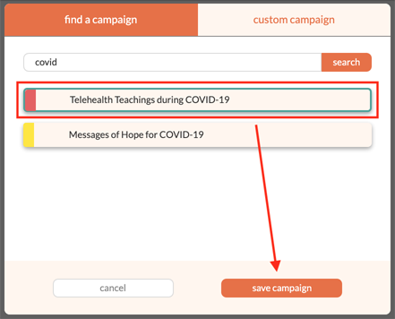 Step 3 screenshot | How to Use Social Genie to Communicate About COVID-19 to Your Community | Brighter Vision | Therapist Marketing Blog